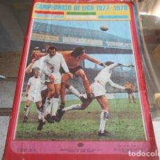 Coleccionismo deportivo: ALBUM VACIO CAMPEONATO LIGA 1977/1978 - NUNCA HA TENIDO CROMOS PEGADOS - FHER. Lote 194993315