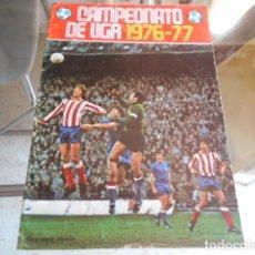 Coleccionismo deportivo: ALBUM VACIO CAMPEONATO LIGA 1976/1977 - NUNCA HA TENIDO CROMOS PEGADOS DISGRA. Lote 194993557