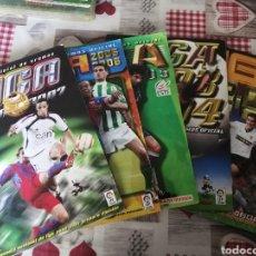 Coleccionismo deportivo: LOTE DE CINCO ALBUMES FUTBOL LIGA ESTE TEMPORADAS 02/03,03/04,04/05,05/06 Y 06/07. Lote 195001840