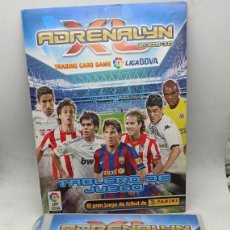 Coleccionismo deportivo: ÁLBUM CLASIFICADOR ADRENALYN 2009-10 CARD GAME. LIGA BBVA. 143 CROMOS, 17 REPETIDOS. SERGIO RAMOS. Lote 195011117