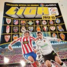 Coleccionismo deportivo: G-KUKI84 ALBUM INCOMPLETO LIGA ESTE PANINI 2012 2013 12 13 VER FOTOS POCOS CROMOS . Lote 195057292