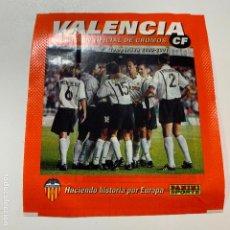 Coleccionismo deportivo: SOBRE SIN ABRIR VALENCIA C.F. CF COLECCION OFICIAL DE CROMOS TEMPORADA 2000-2001 PANINI. Lote 195081736