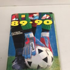 Coleccionismo deportivo: ALBUM 89-90 - CON FICHAJES Y COLOCAS (BUSTINGORRI & LEMA) MIRAR FOTOS. Lote 195118266