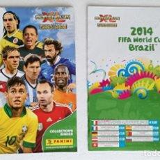 Coleccionismo deportivo: PORTADA Y CONTRAPORTADA PARA EL ALBUM ARCHIVADOR ADRENALYN XL 2014 FIFA WORLD CUP BRAZIL - PANINI. Lote 195137197