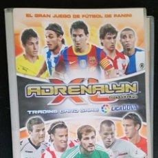 Coleccionismo deportivo: ALBUM DE FUTBOL ADRENALYN 2010-11; PANINI - CONTIENE 28 CROMOS. Lote 195155248
