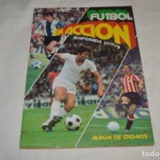 Coleccionismo deportivo: FUTBOL EN ACCIÓN / TEMPORADA 1977/78 - ÁLBUM DE EDITORIAL PACOSA 2 - AÑOS 70 - ¡MIRA FOTOS!. Lote 195234592