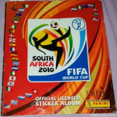 Coleccionismo deportivo: ALBUM FIFA WORLD CUP SOUTH AFRICA 2010 / OFFICIAL COLLECTION FIFA WORLD 2010. FALTAN SÓLO 8 CROMOS.. Lote 195253527