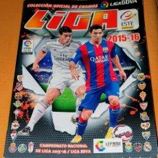 Coleccionismo deportivo: 2015-16 COLECCIÓN OFICIAL DE CROMOS LIGA BBVA. COLECCIÓN ESTE. INCOMPLETO 90 CROMOS. Lote 195285518