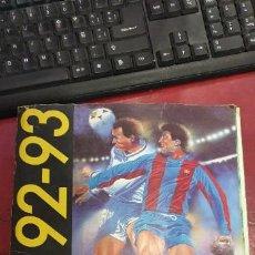 Coleccionismo deportivo: ALBUM FUTBOL LIGA 92/93 EDICIONES ESTE CASI COMPLETO FALTAN 3 CROMOS . Lote 195360928