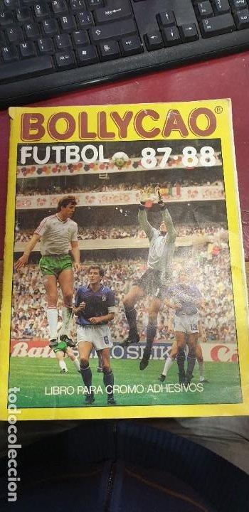 ALBUM BOLLYCAO FUTBOL 87 / 88 154 CROMOS (Coleccionismo Deportivo - Álbumes y Cromos de Deportes - Álbumes de Fútbol Incompletos)