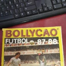 Coleccionismo deportivo: ALBUM BOLLYCAO FUTBOL 87 / 88 154 CROMOS. Lote 195361558