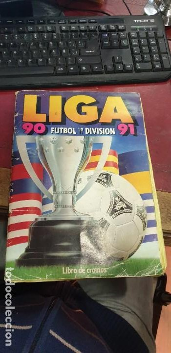 ALBUM FUTBOL LIGA 90/91 ED.ESTE FALTAN 88 CROMOS (Coleccionismo Deportivo - Álbumes y Cromos de Deportes - Álbumes de Fútbol Incompletos)
