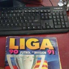 Coleccionismo deportivo: ALBUM FUTBOL LIGA 90/91 ED.ESTE FALTAN 88 CROMOS. Lote 195362210