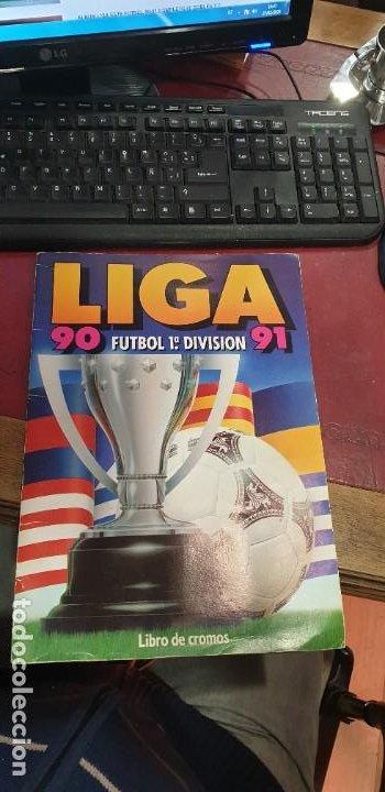 ALBUM FUTBOL LIGA 90/91 ED ESTE POCOS CROMOS BUEN ESTADO 72 CROMOS (Coleccionismo Deportivo - Álbumes y Cromos de Deportes - Álbumes de Fútbol Incompletos)