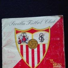 Coleccionismo deportivo: ALBUM CROMOS SEVILLA F.C.. Lote 195382156