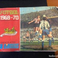 Coleccionismo deportivo: FUTBOL 1969-70 CHOCOLATES LA CIBELES ALBUM CON 106 CROMOS SE VENDEN SUELTOS. Lote 195401405