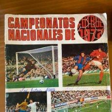 Coleccionismo deportivo: RUIZ ROMERO 1972 CASI LLENO SE VENDEN SUELTOS. Lote 195405595