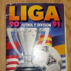 Coleccionismo deportivo: ALBUM CROMOS LIGA EDICIONES ESTE FUTBOL 90-91 TEMPORADA 1990-1991. Lote 195432726