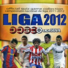 Coleccionismo deportivo: LIGA 2012 BBVA OFFICIAL QUIZ GAME COLLECTION. Lote 195447238