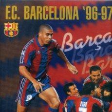 Coleccionismo deportivo: F.C. BARCELONA 96-97 - EDITORIAL PANINI. Lote 195449211