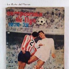 Coleccionismo deportivo: CAMPEONATO DE LIGA 1972-73 - ÁLBUM DE CROMOS DE FÚTBOL - CON LOS DOS CROMOS DE IRIBAR, UNO EL OSCURO. Lote 195450456