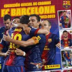 Coleccionismo deportivo: FC BARCELONA 2012-2013 - PANINI. Lote 195451272
