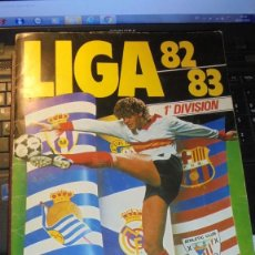 Coleccionismo deportivo: ALBUM LIGA 82-83 1ª DIVISION - INCOMPLETO 84 CROMOS . Lote 195461953