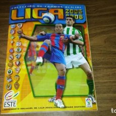 Coleccionismo deportivo: ED. ESTE 2005 2006 05 06 - ALBUM INCOMPLETO CON 473 CROMOS (LEER DESCRIPCION Y VER FOTOS). Lote 195462857