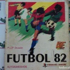 Coleccionismo deportivo: FUTBOL 82 - 1ª Y 2.ª DIVISIÓN. ÁLBUM PARA APROVECHAR LOS CROMOS. Lote 195507982