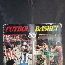 Coleccionismo deportivo: ALBUM FÚTBOL BASKET 85 - PANINI / CROMOCROM - CONTIENE 359 CROMOS. Lote 195511616