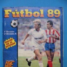 Coleccionismo deportivo: ALBUM FUTBOL 89 - PANINI - 1ª DIVISION - VER DESCRIPCION Y FOTOS. Lote 195538903