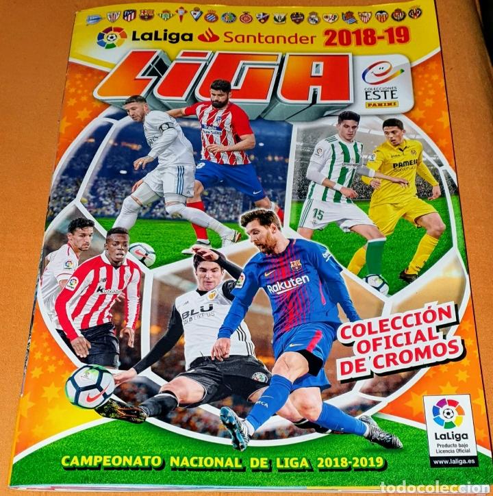 2018-19 COLECCIÓN OFICIAL DE CROMOS LIGA BBVA. COLECCIÓN ESTE. INCOMPLETO. FALTAN 395. CONTIENE CROM (Coleccionismo Deportivo - Álbumes y Cromos de Deportes - Álbumes de Fútbol Incompletos)