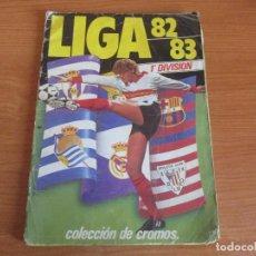 Coleccionismo deportivo: ALBUM DE FUTBOL EDICIONES ESTE TEMPORADA 82/83 ( INCOMPLETO 287 CROMOS). Lote 195646323
