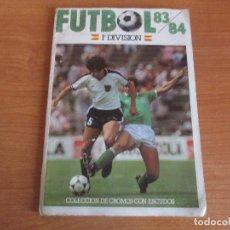 Coleccionismo deportivo: ALBUM DE CROMOS DE FUTBOL , CROMOS CANO TEMPORADA 83/84 (INCOMPLETO 249 CROMOS). Lote 195650691