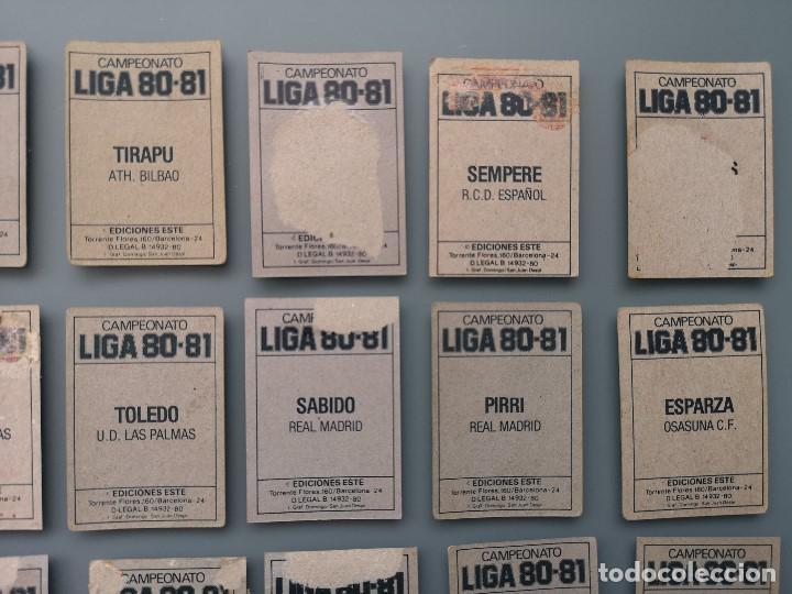 Coleccionismo deportivo: ALBUM EDIC ESTE LIGA 80 81 1980 1981 MUY COMPLETO INCLUYE 21 FICHAJES Y QUINI PINTADO MUY BUENA CONS - Foto 39 - 166776594