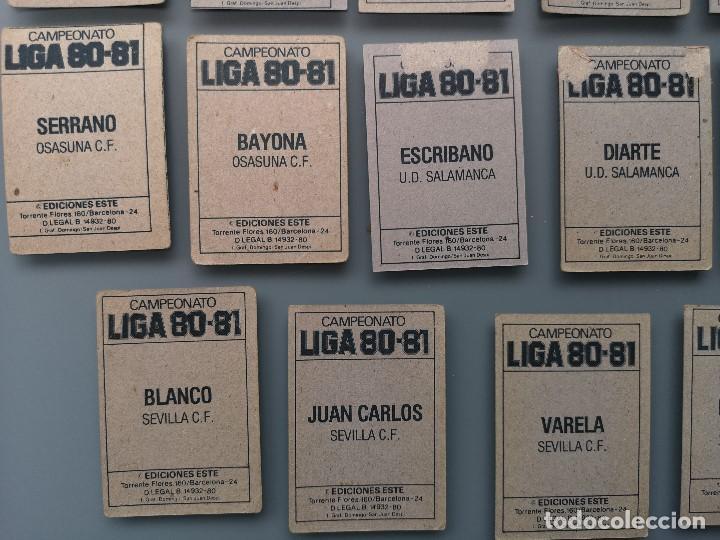Coleccionismo deportivo: ALBUM EDIC ESTE LIGA 80 81 1980 1981 MUY COMPLETO INCLUYE 21 FICHAJES Y QUINI PINTADO MUY BUENA CONS - Foto 40 - 166776594