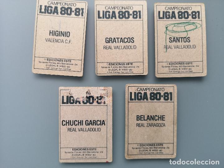Coleccionismo deportivo: ALBUM EDIC ESTE LIGA 80 81 1980 1981 MUY COMPLETO INCLUYE 21 FICHAJES Y QUINI PINTADO MUY BUENA CONS - Foto 42 - 166776594