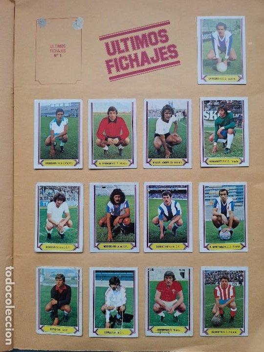 Coleccionismo deportivo: ALBUM EDIC ESTE LIGA 80 81 1980 1981 MUY COMPLETO INCLUYE 21 FICHAJES Y QUINI PINTADO MUY BUENA CONS - Foto 27 - 166776594