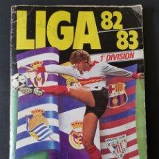 Coleccionismo deportivo: ALBUM INCOMPLETO ESTE 1982/83, CON MUCHÍSIMOS CROMOS 82/83, MARADONA 1° AÑO. LEER DESCRIPCIÓN.. Lote 196259770