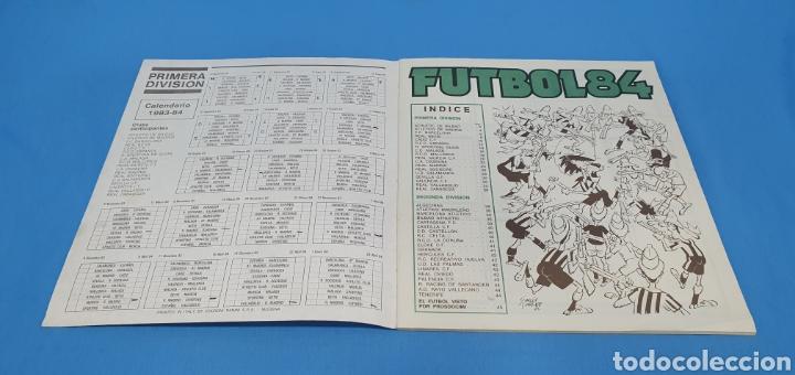 Coleccionismo deportivo: ALBUM DE CROMOS, FUTBOL 84, PRIMERA Y SEGUNDA DIVISIÓN, FIGURINI PANINI - Foto 2 - 196963846