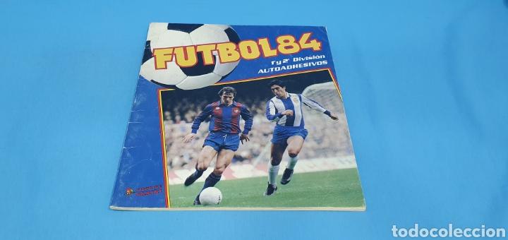 ALBUM DE CROMOS, FUTBOL 84, PRIMERA Y SEGUNDA DIVISIÓN, FIGURINI PANINI (Coleccionismo Deportivo - Álbumes y Cromos de Deportes - Álbumes de Fútbol Incompletos)
