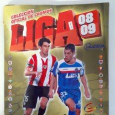 Coleccionismo deportivo: ALBUM FUTBOL EDITORIAL ESTE LIGA 08 09 2008 2009. Lote 197028088
