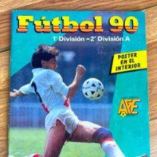 Coleccionismo deportivo: FUTBOL 90. 1ª DIVISION - 2ª DIVISIÓN. PANINI. 417 CROMOS. FALTAN 32 CROMOS. Lote 197056178