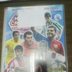 Collezionismo sportivo: ALBUM CROMOS MEGACRACKS 2008 - 2009 06 - 07 CON MÁS DE 350 CROMOS DISTINTOS. Lote 197087630