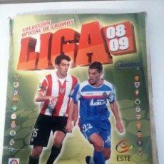 Coleccionismo deportivo: ALBUM FUTBOL EDITORIAL ESTE LIGA 2008 09 2008 2009. Lote 197093516