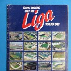Coleccionismo deportivo: ALBUM CROMOS - LOS ASES DE LA LIGA 1989-1990 89-90 - AS - VER DESCRIPCION Y FOTOS. Lote 197419205
