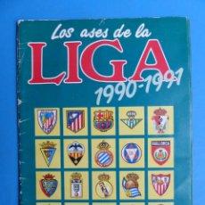 Coleccionismo deportivo: ALBUM CROMOS - LOS ASES DE LA LIGA 1990-1991 90-91 - AS - VER DESCRIPCION Y FOTOS. Lote 197419348