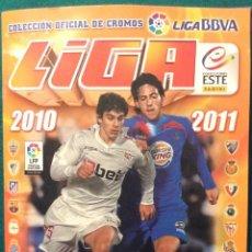 Coleccionismo deportivo: ÁLBUM DE CROMOS LIGA BBVA 2010-2011. Lote 197475516