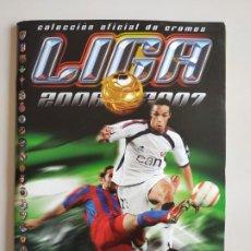 Coleccionismo deportivo: ÁLBUM LIGA EDICIONES ESTE 2006/2007 INCOMPLETO 447 CROMOS. Lote 197539598