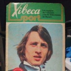 Coleccionismo deportivo: ALBUM DE CROMOS DE FUTBOL A MUNICH CON XIBECA CON CRUYYF + SOBRE .VER FOTOGRAFIAS Y LEER DESCRIPCION. Lote 197660911